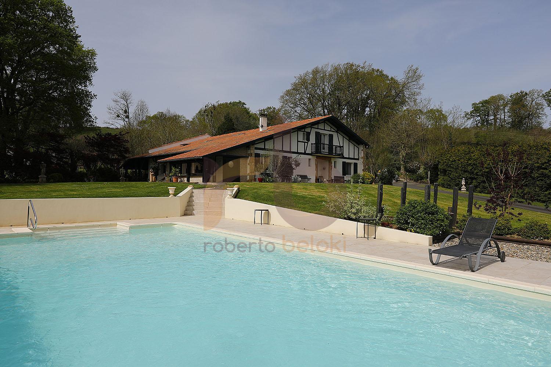 Magnifique maison basque à Sare, FC1106