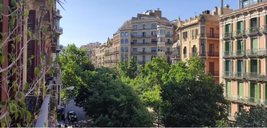 Particular vende piso en Barcelona, Rambla Catalunya